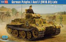 Hobby Boss 1/35 German Pz.kpfw.I Ausf F (VK18.01) Late
