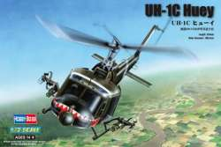 Hobby Boss 1/72 UH-1C Huey Helicopter