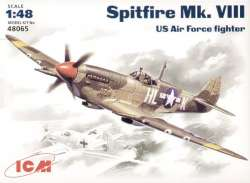 ICM 1/48 Spitfire Mk.VIII US Air Force