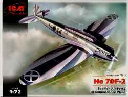 ICM 1/72 Heinkel He 70F-2 Spanish Air Force Reconnaissance