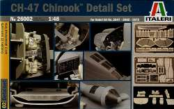 Italeri 1/48 CH-47 Chinook Detail Set