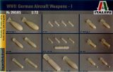 Italeri 1/72 WWII German Aircraft Weapons Set 1