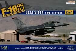 "Kinetic 1/48 F-16DG/DJ (Block 40/50) Falcon ""USAF Viper"" Two Seater"