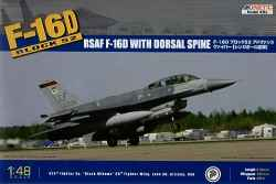 Kinetic 1/48 F-16D (Block 52)  Falcon RSAF with Dorsal Spine