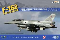 Kinetic 1/72 F-16 D Block 52+ Polish Air Force/Hellenic Air Force