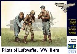 Master Box 1/32 Pilots of Luftwaffe, WWII Era