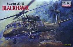 Minicraft 1/48 US Army UH-60L Blackhawk Helicopter