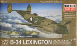Minicraft 1/72 B-34 Lexington