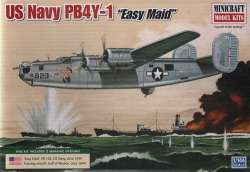 "Minicraft 1/144 US Navy PB4Y-1 ""Easy Maid"""