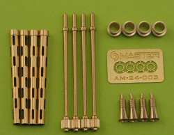 "Master Model 1/24 Browning 0.303"" Gun Barrels"