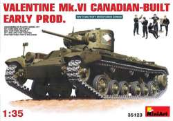MiniArt 1/35 Valentine Mk.VI Canadian-Built Early Production