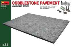 MiniArt 1/35 Cobblestone Pavement Diorama Base