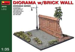 MiniArt 1/35 Diorama w/ Brick Wall