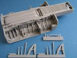 Pavla Models 1/48 BAC TSR-2 Main Wheel Well Set
