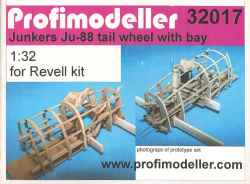 Profimodeller 1/32 Junkers Ju 88 Tail Wheel & Bay