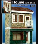 Plus Model 1/35 House With Shop Diorama