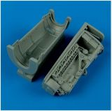 Quickboost 1/48 Messerschmitt Bf 109E Engine