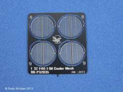 Radu Brinzan 1/32 F4U-1 Corsair Oil Coolers