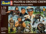 Revell 1/72 Luftwaffe WWII Pilots & Groundcrew