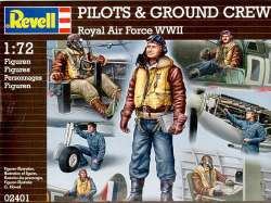 Revell 1/72 RAF WWII Pilots & Groundcrew