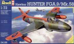 Revell 1/72 Hawker Hunter FGA.9/Mk.58