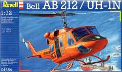 Revell 1/72 Bell AB212 / UH-1N Helicopter