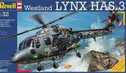 Revell 1/32 Westland Sea Lynx HAS.3 Royal Navy