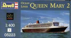 Revell 1/400 Queen Mary 2 Ocean Liner
