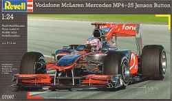 Revell 1/24 Vodafone McLaren Mercedes MP4-25 Jensen Button