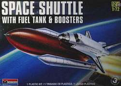 Monogram 1/72 Space Shuttle with Fuel Tank & Boosters