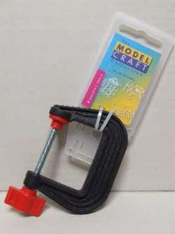 Modelcraft Plastic G-Clamp 50mm