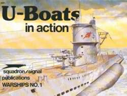Squadron Signal U-Boats in Action Book