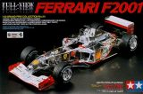Tamiya 1/20 Ferrari F2001 Full View