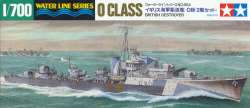 Tamiya 1/700 British O Class Destroyer