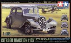 Tamiya 1/48 Citroen Traction 11CV Staff Car