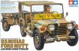 Tamiya 1/35 US M151A2 Ford Mutt with Cargo Trailer