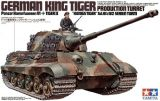 "Tamiya 1/35 German King Tiger ""Production Turret"""