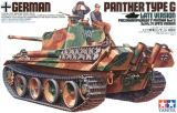 "Tamiya 1/35 German Panther Tank Type G ""Late Version"""