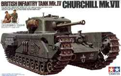 Tamiya 1/35 Churchill  British Infantry Tank Mk.IV
