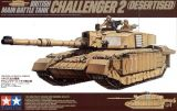 Tamiya 1/35 British MBT Challenger 2 (Desertised)