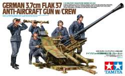 Tamiya 1/35 German 3.7cm Flak 37 Anti-Aircraft Gun w/Crew
