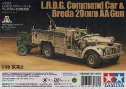Tamiya 1/35 LRDG Command Car and Breda 20mm AA Gun