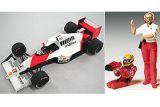Tamiya 1/20 McLaren Honda MP4/5B with Senna Figure