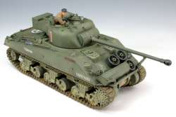 Tasca 1/35 British Sherman Firefly Vc w/Cast Cheek Armour Turret