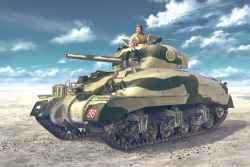 "Tasca 1/35 British Sherman II Direct Vision ""El Alamein 1942"""