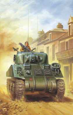 Tasca 1/35 British Army Sherman V (M4A4)