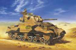 Tasca 1/35 British Sherman III Direct Vision w/Early VVSS Suspension