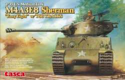 "Tasca 1/35 M4A3E8 Sherman ""Easy Eight"" w/T66 Tracks"