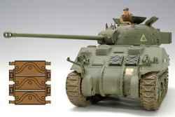 Tasca 1/35 British Sherman Firefly Vc w/Modelkasten T48 Tracks