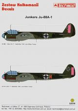 Techmod 1/32 Junkers Ju-88A-1 Decals